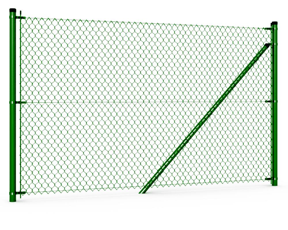 Drahtgitter grün