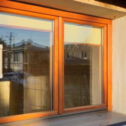 Holzfenster 600 x 1980 mm Sash Fenster Kiefer Calcink