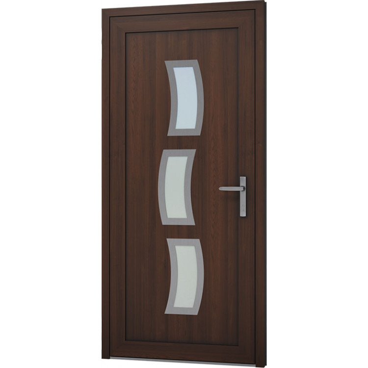 Aluminium Eingangstür - AW17