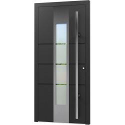 Aluminium Eingangstür - AN21
