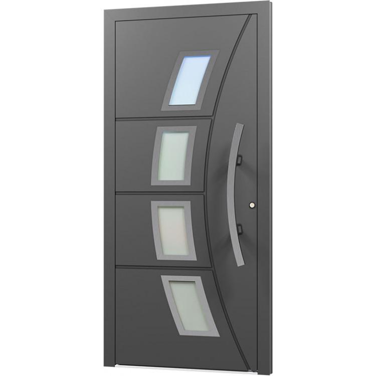 Aluminium Eingangstür - AN65