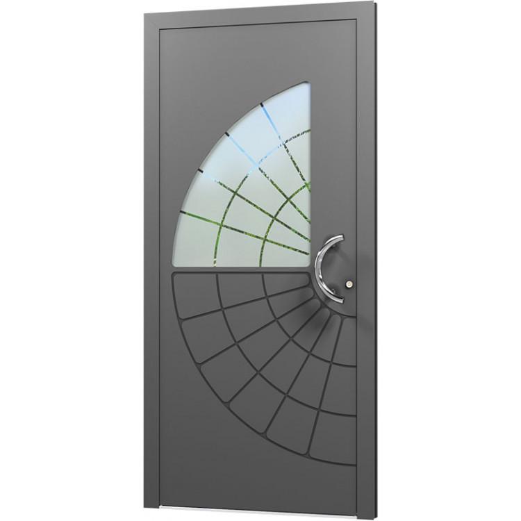 Aluminium Eingangstür - AN67