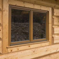Holzfenster 890 x 770 mm Massiv Kiefer DREH | DREH/KIPP