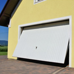 Stahl Garagentor Schwingtor - Breite: 200 cm x Höhe: 200-300 cm