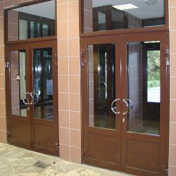 Aluminium Tür mit Platte 980 x 2190 mm MB-70