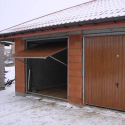 Stahl Garagentor Schwingtor - Breite: 250 cm x Höhe: 200-300 cm