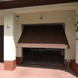 Stahl Garagentor Schwingtor - Breite: 260 cm x Höhe: 200-300 cm