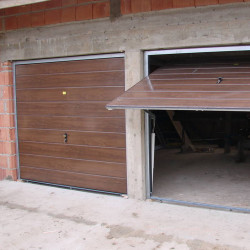 Stahl Garagentor Schwingtor - Breite: 290 cm x Höhe: 200-300 cm